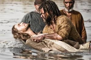 Daniel Percival, as John The Baptist, The Bible (2013)