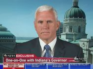 Indiana Gov. Mike Pence - RFRA Interview on ABC