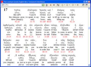 HCSB Reverse Interlinear Bible