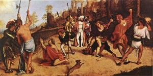 Martyrdom of Stephen - Acts 7:51-60