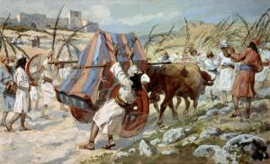 1 Chronicles 13:9-10 Uzzah Touches the Ark