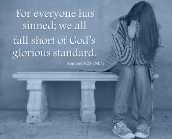 Admitting to sin is unpleasant