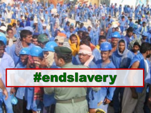 What can we do to stop slavery? #endslavery
