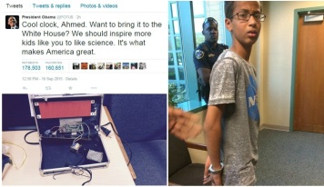 obama-tweet-and-ahmed-clock