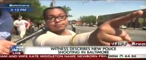 False report caught on live TV in Baltimore