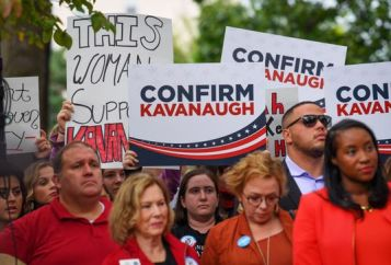 confirm Kavanaugh supporters